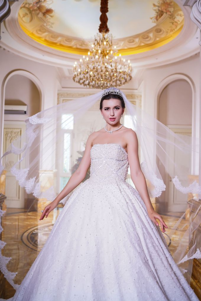 Wedding Gown by Jeffry Sui Couture - 004