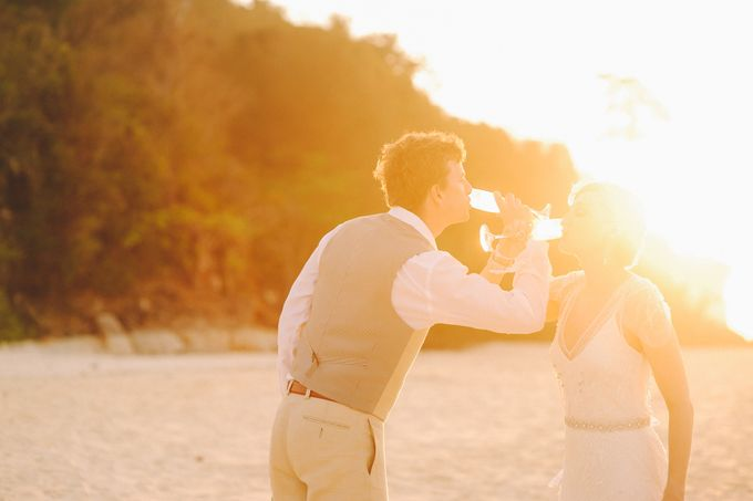 East meet west wedding at Bamboo island and Zeavola Phi Phi island by Lovedezign Photography - 036