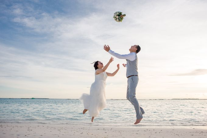 Grace & Geral Destination Wedding in Maldives by Asad's Photography - 003