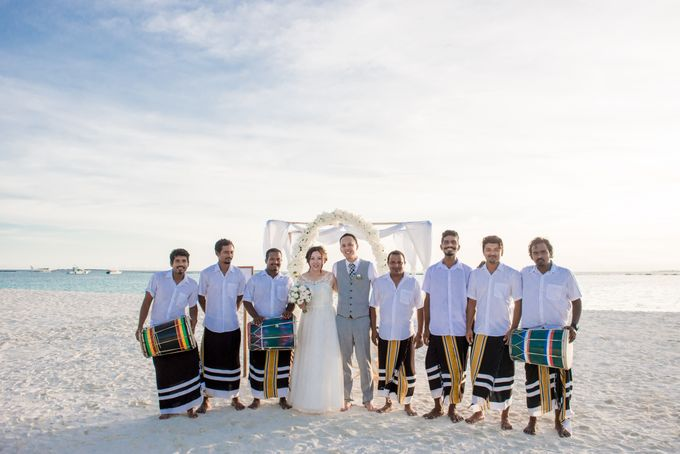 Grace & Geral Destination Wedding in Maldives by Asad's Photography - 004