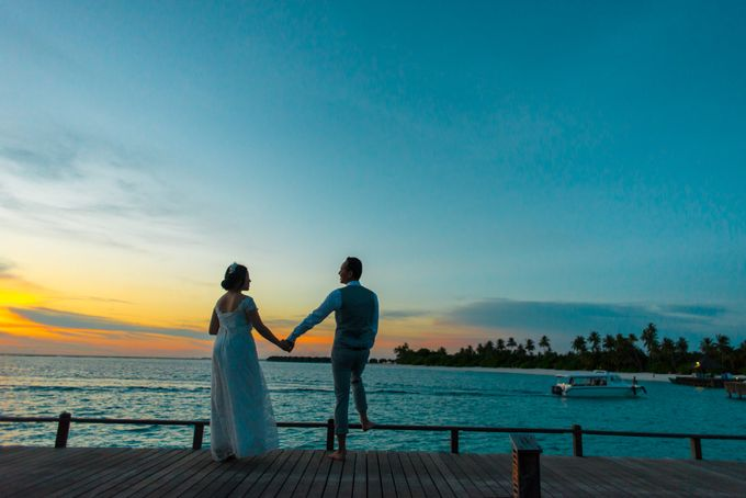 Grace & Geral Destination Wedding in Maldives by Asad's Photography - 008
