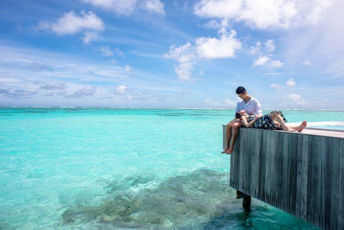 Ophelia and Louis Honeymoon in Maldives by Conrad Maldives Rangali Island - 002