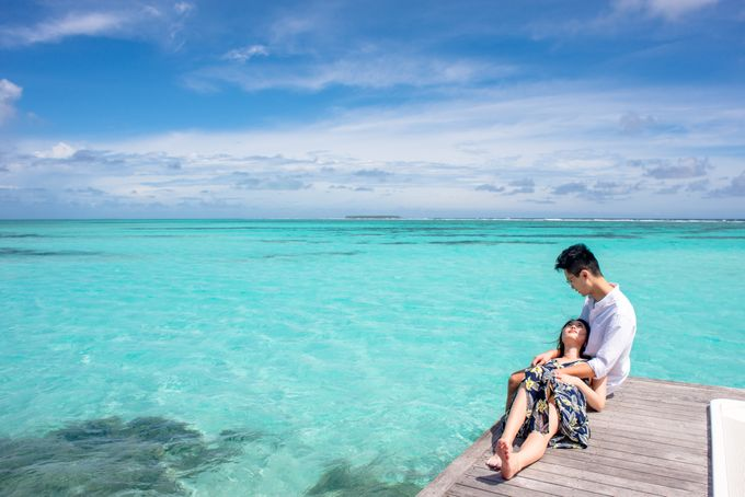 Ophelia and Louis Honeymoon in Maldives by Conrad Maldives Rangali Island - 003