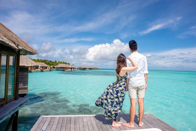 Ophelia and Louis Honeymoon in Maldives by Conrad Maldives Rangali Island - 004