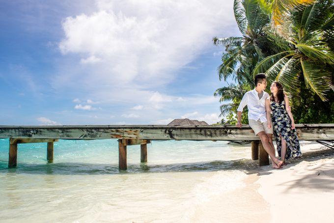 Ophelia and Louis Honeymoon in Maldives by Conrad Maldives Rangali Island - 005