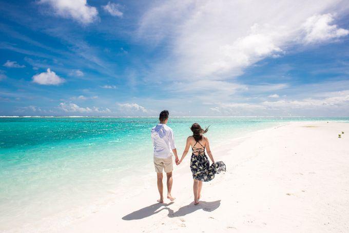 Ophelia and Louis Honeymoon in Maldives by Conrad Maldives Rangali Island - 006