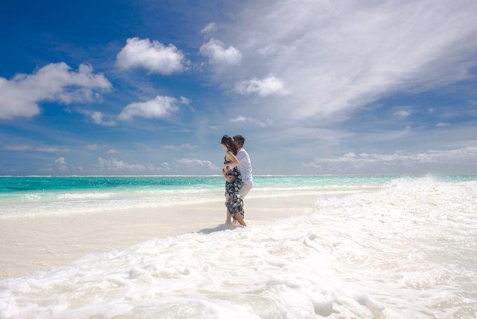 Ophelia and Louis Honeymoon in Maldives by Conrad Maldives Rangali Island - 007