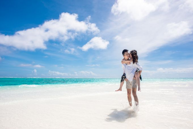 Ophelia and Louis Honeymoon in Maldives by Conrad Maldives Rangali Island - 008