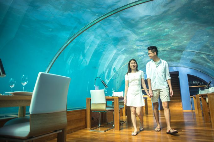 Ophelia and Louis Honeymoon in Maldives by Conrad Maldives Rangali Island - 009