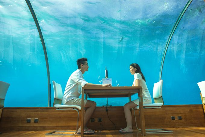 Ophelia and Louis Honeymoon in Maldives by Conrad Maldives Rangali Island - 010