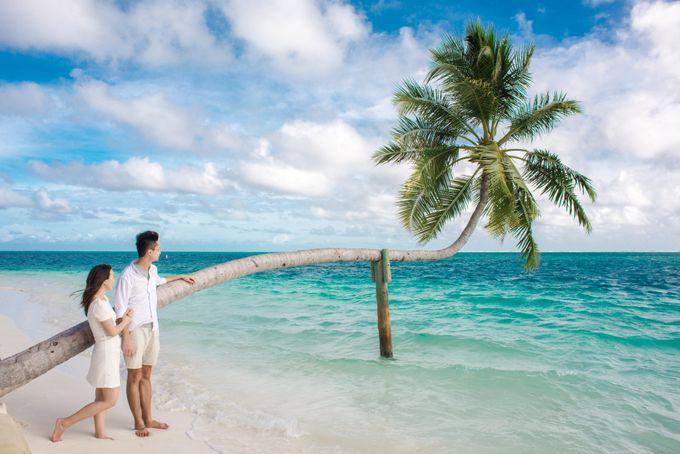 Ophelia and Louis Honeymoon in Maldives by Conrad Maldives Rangali Island - 011