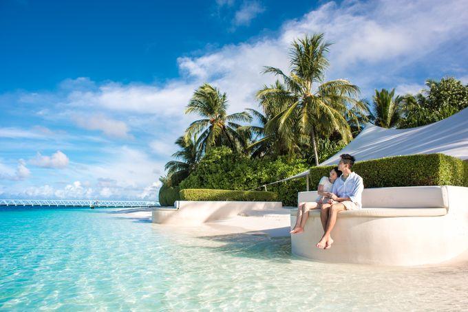 Ophelia and Louis Honeymoon in Maldives by Conrad Maldives Rangali Island - 012