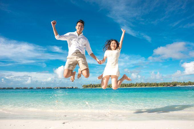 Ophelia and Louis Honeymoon in Maldives by Conrad Maldives Rangali Island - 013