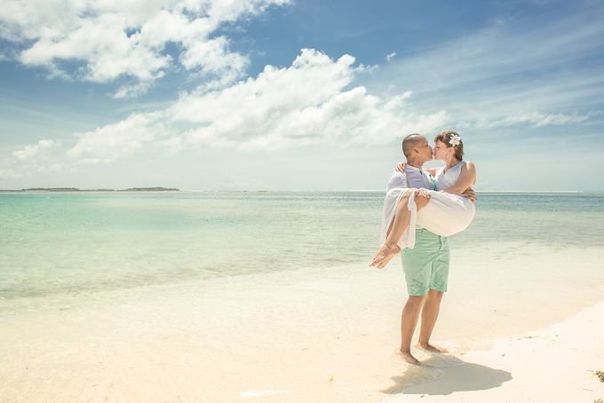 Ron and Aleenas  Beach Wedding in Maldives by Asad's Photography - 010