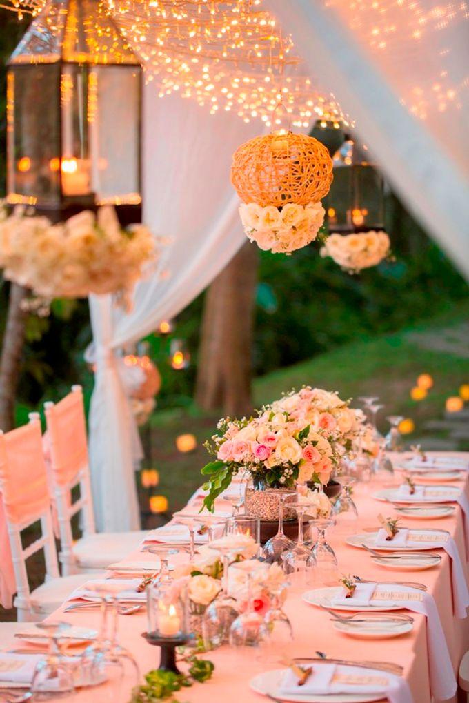 kayumanis ubud-dinner reception- pathway by Kayumanis Private Villa and Spa - 002