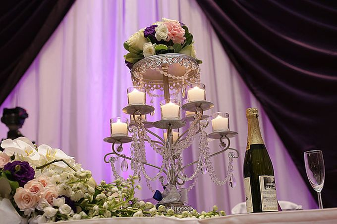 Hall Decorations by Casablanca Bridal And Tuxedo - 001
