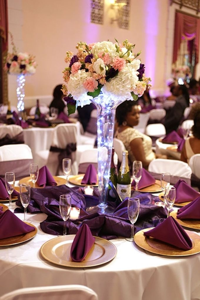 Hall Decorations by Casablanca Bridal And Tuxedo - 002