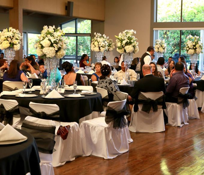 Hall Decorations by Casablanca Bridal And Tuxedo - 003