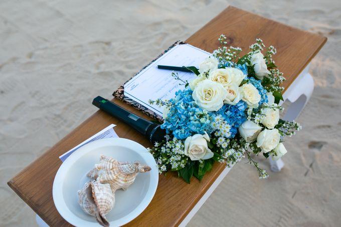 Blue Arrangement by Courtyard by Marriott Bali Nusa Dua - 003