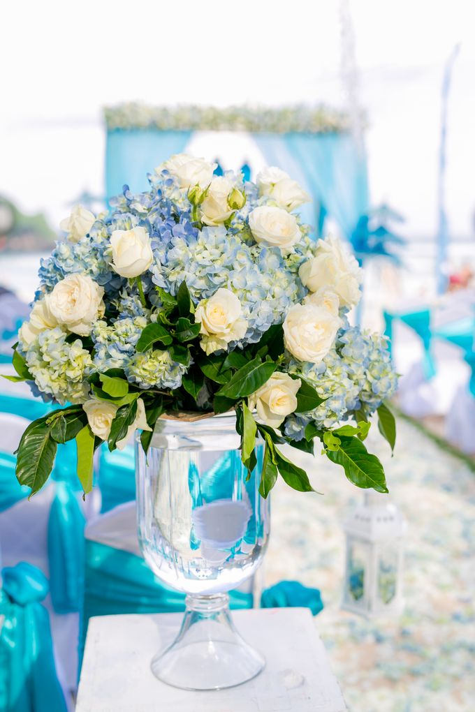 Wedding in Blue by Courtyard by Marriott Bali Nusa Dua - 002