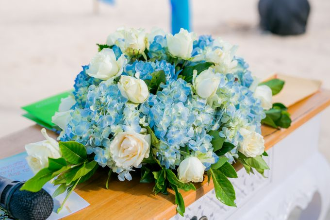 Wedding in Blue by Courtyard by Marriott Bali Nusa Dua - 003