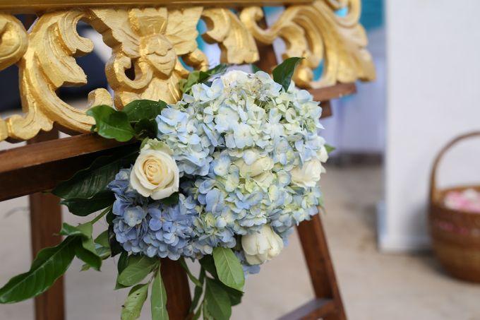 Wedding in Blue by Courtyard by Marriott Bali Nusa Dua - 004