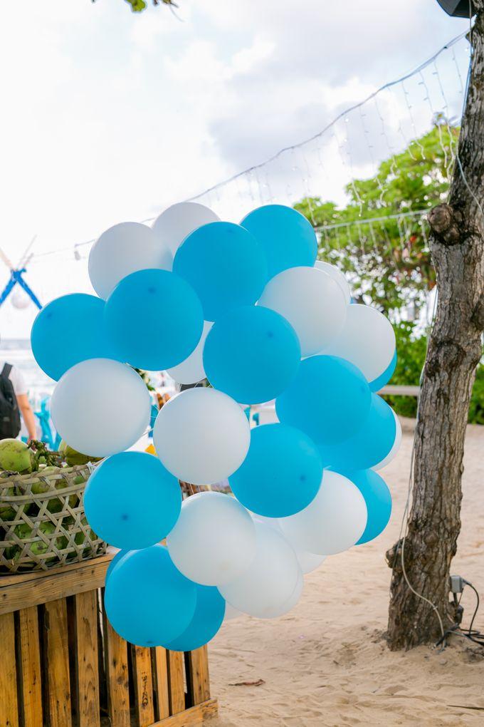 Wedding in Blue by Courtyard by Marriott Bali Nusa Dua - 005