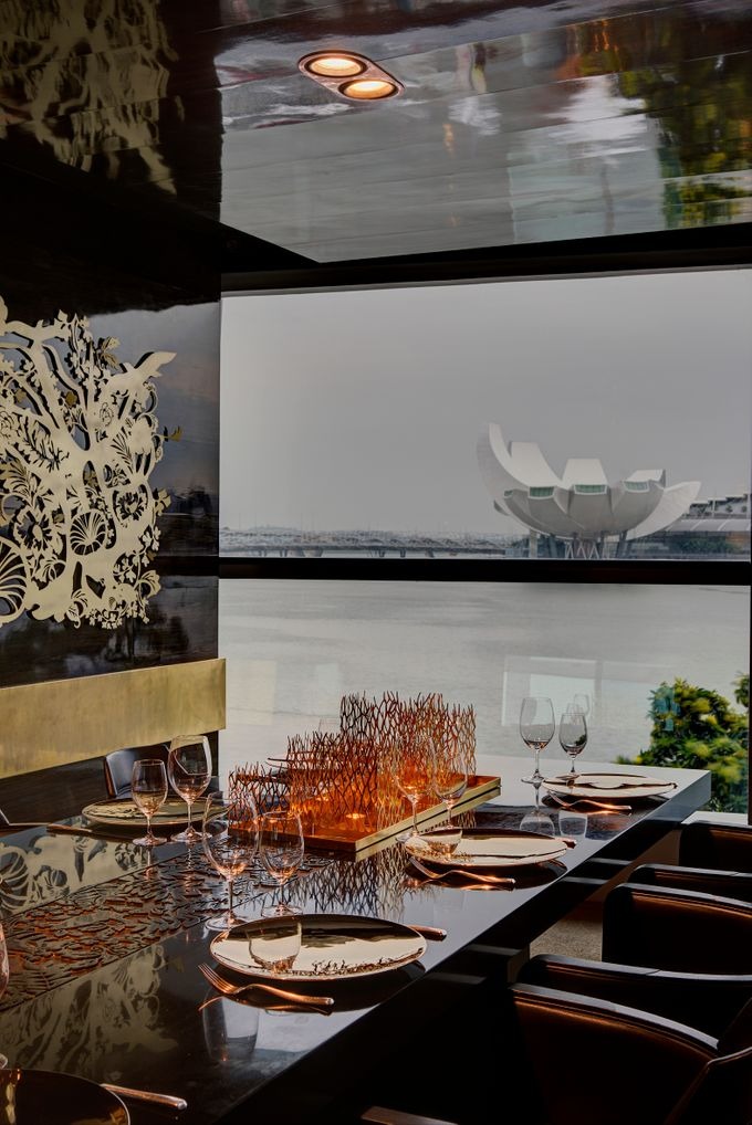 Interior by Forlino Dining on the Bay - 014