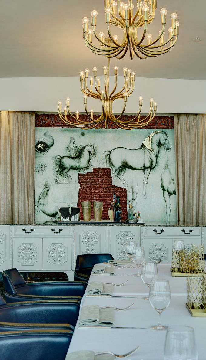 Interior by Forlino Dining on the Bay - 005