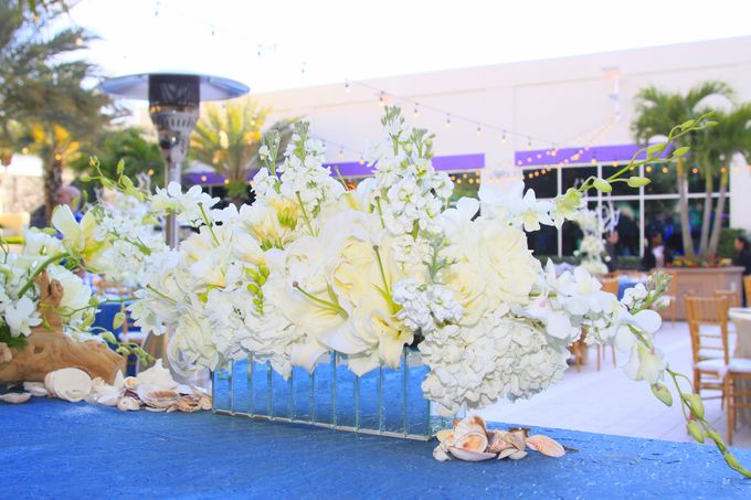 Beach Wedding Reception by The Perfect Moment - 004