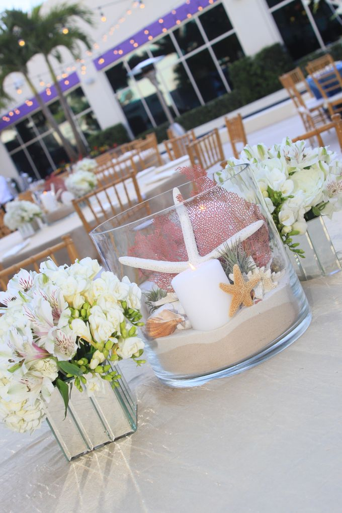 Beach Wedding Reception by The Perfect Moment - 005