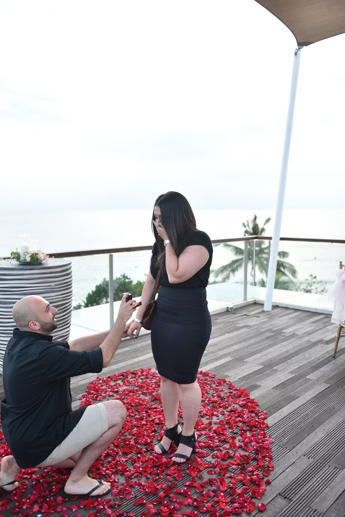 Sam & Jess Marriage Proposal by Sheraton Bali Kuta Resort - 001