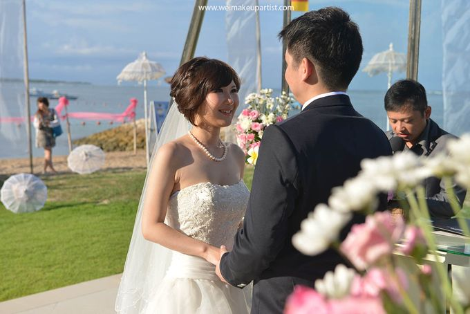 Wedding Makeup and Hair do for Sophie & Hardi by Wei Makeup Artist by Wei Makeup Artist - 001