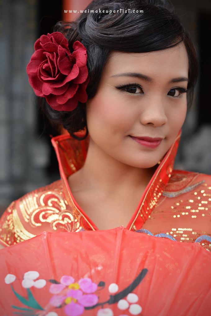 Chinese Girl by Wei Makeup Artist - 003