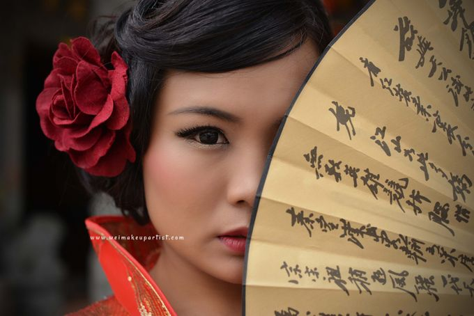 Chinese Girl by Wei Makeup Artist - 002