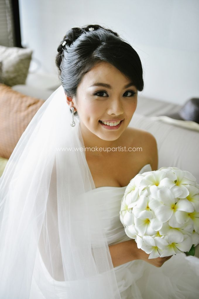 Wedding Makeup and Hair do for Tiffany by Wei Makeup Artist - 003