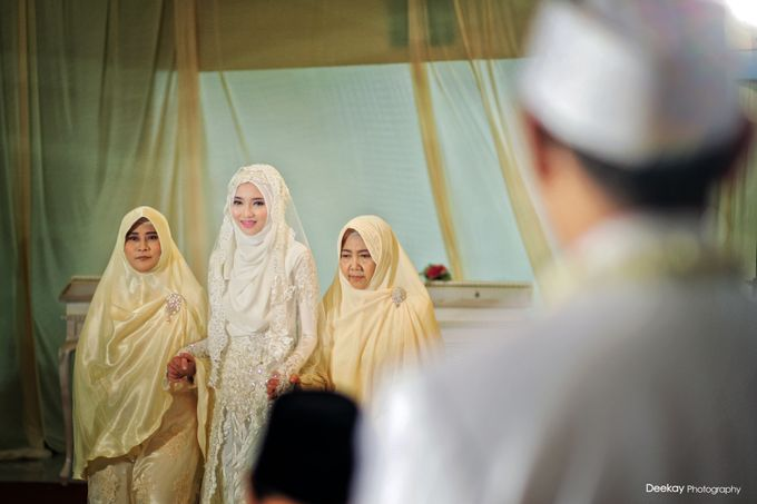 Nia & Fifin Wedding by LAKSMI - Kebaya Muslimah & Islamic Bride - 002