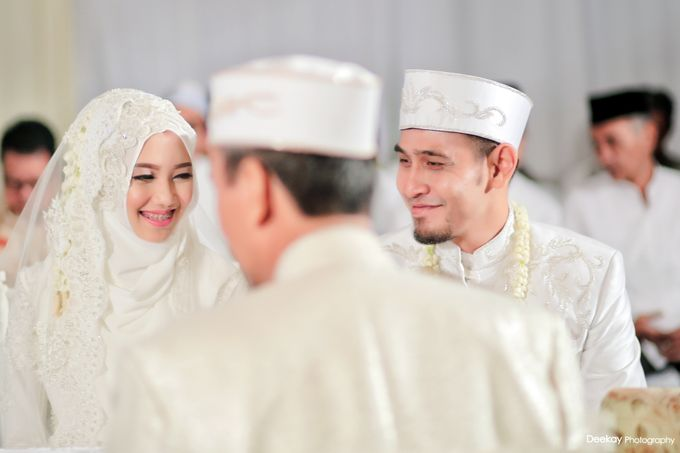 Nia & Fifin Wedding by LAKSMI - Kebaya Muslimah & Islamic Bride - 003