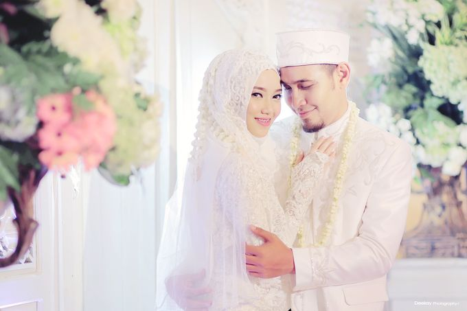 Nia & Fifin Wedding by LAKSMI - Kebaya Muslimah & Islamic Bride - 005