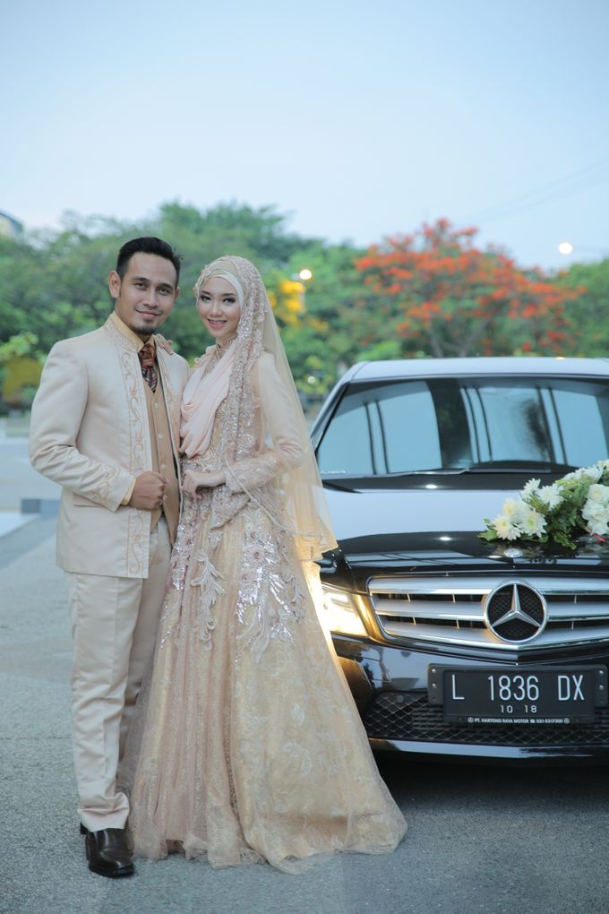 Nia & Fifin Wedding by LAKSMI - Kebaya Muslimah & Islamic Bride - 006