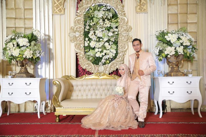 Nia & Fifin Wedding by LAKSMI - Kebaya Muslimah & Islamic Bride - 007