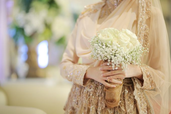 Nia & Fifin Wedding by LAKSMI - Kebaya Muslimah & Islamic Bride - 009