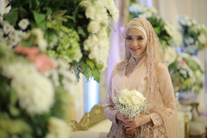 Nia & Fifin Wedding by LAKSMI - Kebaya Muslimah & Islamic Bride - 011