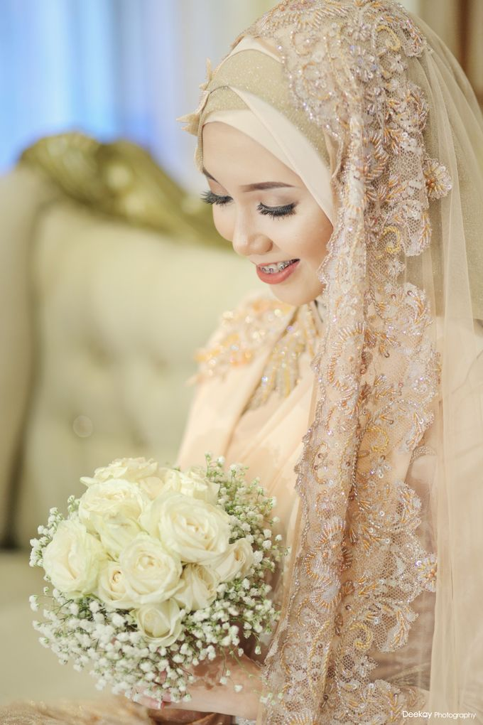 Nia & Fifin Wedding by LAKSMI - Kebaya Muslimah & Islamic Bride - 015