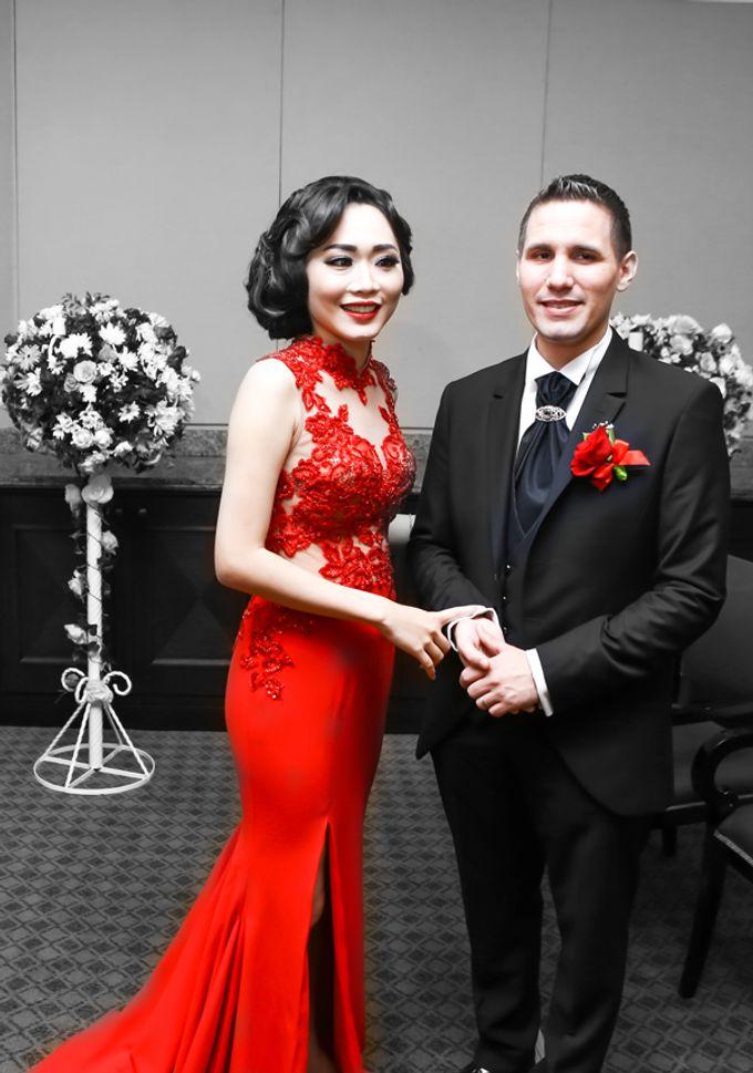 Nicole & Bojan WeddingDay by Anaz Khairunnaz - 005