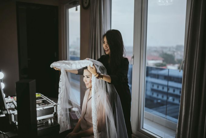 The Wedding by VA Make Up Artist - 013