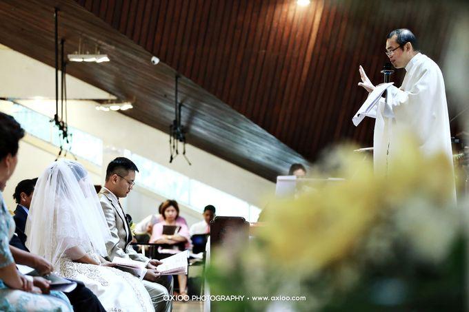 Darren & Yohana Wedding by Dante Wedding Planner - 016