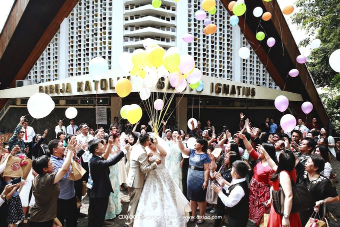 Darren & Yohana Wedding by Dante Wedding Planner - 018