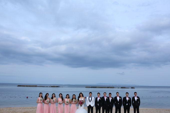 Andrew & Jessica Wedding by Sofitel Bali Nusa Dua Beach Resort - 019