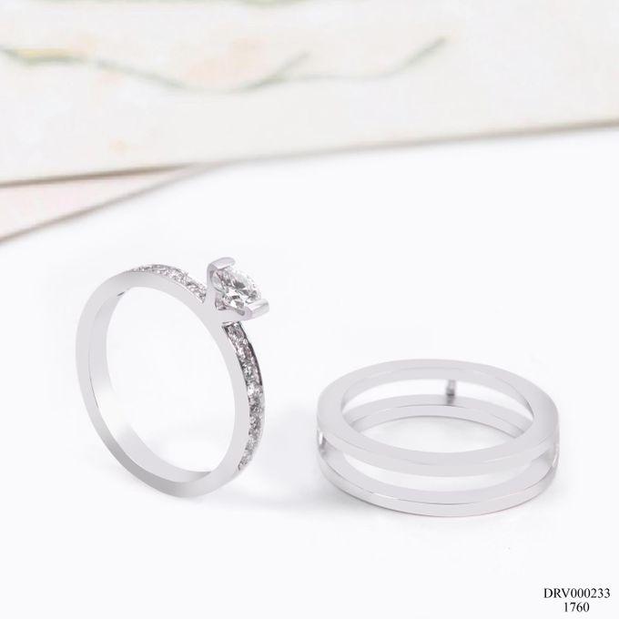 Women Diamond Ring VIN Jewellery DRV000233 by V&Co Jewellery - 001
